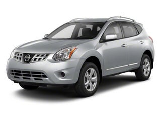 Brilliant Silver 2013 Nissan Rogue Pictures Rogue Utility 4D S 2WD I4 photos front view