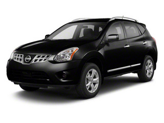 Super Black 2013 Nissan Rogue Pictures Rogue Utility 4D S 2WD I4 photos front view