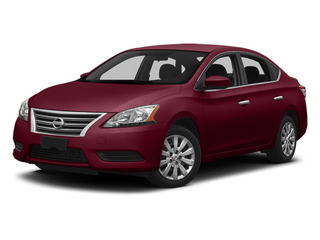 Red Brick 2013 Nissan Sentra Pictures Sentra Sedan 4D S I4 photos front view