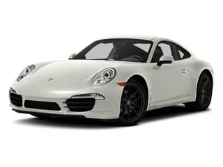 White 2013 Porsche 911 Pictures 911 Coupe 2D H6 photos front view