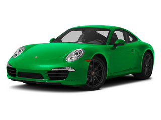 Emerald Green Metallic 2013 Porsche 911 Pictures 911 Coupe 2D H6 photos front view