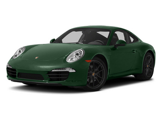 Porsche Racing Green Metallic 2013 Porsche 911 Pictures 911 Coupe 2D H6 photos front view