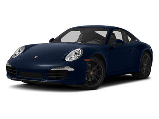 Dark Blue Metallic 2013 Porsche 911 Pictures 911 Coupe 2D H6 photos front view