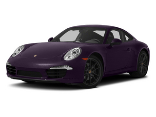 Amethyst Metallic 2013 Porsche 911 Pictures 911 Coupe 2D H6 photos front view