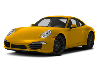 Racing Yellow 2013 Porsche 911 Pictures 911 Coupe 2D H6 photos front view