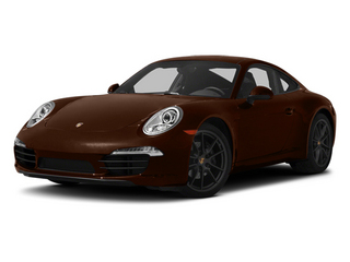 Mahogany Metallic 2013 Porsche 911 Pictures 911 Coupe 2D H6 photos front view