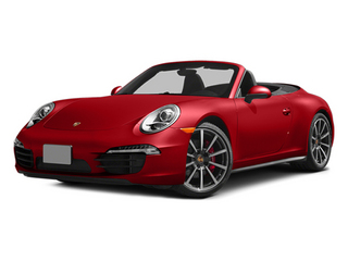 Guards Red 2013 Porsche 911 Pictures 911 Cabriolet 2D 4S AWD H6 photos front view