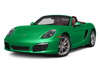 Emerald Green Metallic 2013 Porsche Boxster Pictures Boxster Roadster 2D S photos front view