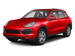 Carmine Red 2013 Porsche Cayenne Pictures Cayenne Utility 4D AWD (V6) photos front view