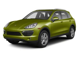 Peridot Metallic 2013 Porsche Cayenne Pictures Cayenne Utility 4D S AWD (V8) photos front view