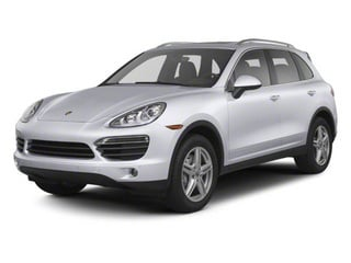 Classic Silver Metallic 2013 Porsche Cayenne Pictures Cayenne Utility 4D AWD (V6) photos front view