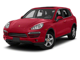 Carmine Red 2013 Porsche Cayenne Pictures Cayenne Utility 4D Diesel AWD (V6) photos front view