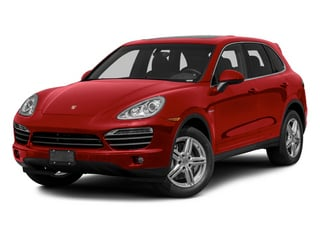 Carmine Red 2013 Porsche Cayenne Pictures Cayenne Utility 4D S Hybrid AWD (V6) photos front view