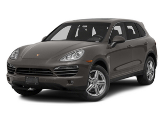Meteor Grey Metallic 2013 Porsche Cayenne Pictures Cayenne Utility 4D S Hybrid AWD (V6) photos front view