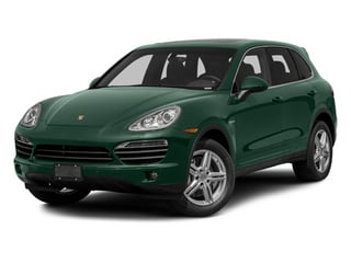 Jet Green Metallic 2013 Porsche Cayenne Pictures Cayenne Utility 4D S Hybrid AWD (V6) photos front view