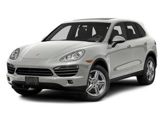 Classic Silver Metallic 2013 Porsche Cayenne Pictures Cayenne Utility 4D S Hybrid AWD (V6) photos front view