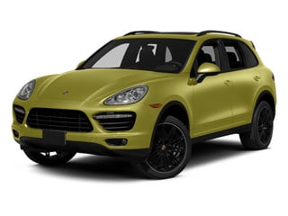 Peridot Metallic 2013 Porsche Cayenne Pictures Cayenne Utility 4D Turbo AWD (V8) photos front view