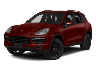 Auburn Metallic 2013 Porsche Cayenne Pictures Cayenne Utility 4D Turbo AWD (V8) photos front view