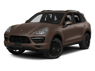 Umber Metallic 2013 Porsche Cayenne Pictures Cayenne Utility 4D Turbo AWD (V8) photos front view