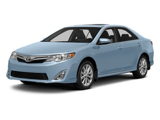 Clearwater Blue Metallic 2013 Toyota Camry Pictures Camry Sedan 4D XLE V6 photos front view