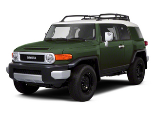 Army Green 2013 Toyota FJ Cruiser Pictures FJ Cruiser Utility 4D 2WD V6 photos front view