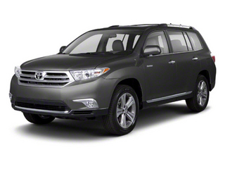 Magnetic Gray Metallic 2013 Toyota Highlander Pictures Highlander Utility 4D 2WD I4 photos front view