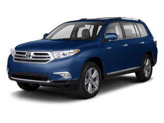 Nautical Blue Metallic 2013 Toyota Highlander Pictures Highlander Utility 4D 2WD I4 photos front view