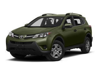 Spruce Mica 2013 Toyota RAV4 Pictures RAV4 Utility 4D LE AWD I4 photos front view