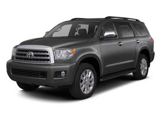 Magnetic Gray Metallic 2013 Toyota Sequoia Pictures Sequoia Utility 4D Platinum 2WD V8 photos front view