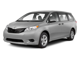 Silver Sky Metallic 2013 Toyota Sienna Pictures Sienna Wagon 5D LE AWD V6 photos front view