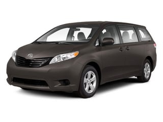 Predawn Gray Mica 2013 Toyota Sienna Pictures Sienna Wagon 5D LE AWD V6 photos front view