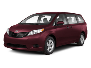 Salsa Red Pearl 2013 Toyota Sienna Pictures Sienna Wagon 5D LE AWD V6 photos front view