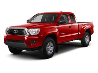 Barcelona Red Metallic 2013 Toyota Tacoma Pictures Tacoma Base Access Cab 4WD V6 photos front view