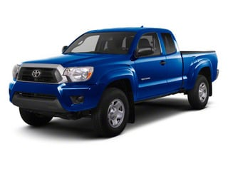 Nautical Blue Metallic 2013 Toyota Tacoma Pictures Tacoma Base Access Cab 4WD V6 photos front view