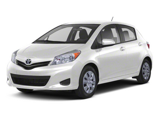 Super White 2013 Toyota Yaris Pictures Yaris Hatchback 5D LE I4 photos front view