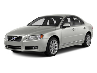 Ice White 2013 Volvo S80 Pictures S80 Sedan 4D I6 photos front view