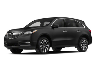 Crystal Black Pearl 2014 Acura MDX Pictures MDX Utility 4D Technology DVD 2WD V6 photos front view