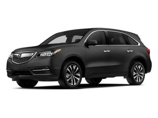 Graphite Luster Metallic 2014 Acura MDX Pictures MDX Utility 4D Technology DVD 2WD V6 photos front view