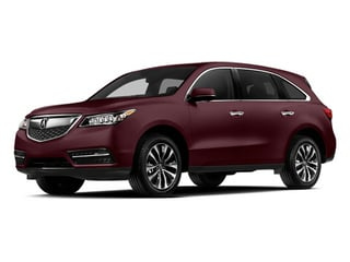 Dark Cherry Pearl 2014 Acura MDX Pictures MDX Utility 4D Technology DVD 2WD V6 photos front view