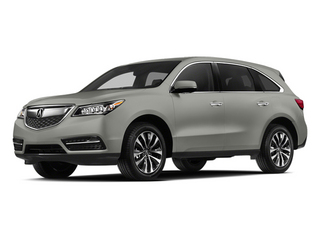 Silver Moon 2014 Acura MDX Pictures MDX Utility 4D Technology DVD 2WD V6 photos front view