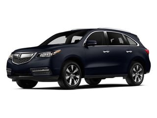 Fathom Blue Pearl 2014 Acura MDX Pictures MDX Utility 4D Advance DVD AWD V6 photos front view