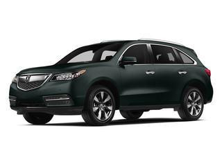 Forest Mist Metallic 2014 Acura MDX Pictures MDX Utility 4D Advance DVD 2WD V6 photos front view