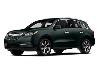 Forest Mist Metallic 2014 Acura MDX Pictures MDX Utility 4D Advance DVD AWD V6 photos front view