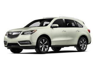 White Diamond Pearl 2014 Acura MDX Pictures MDX Utility 4D Advance DVD AWD V6 photos front view