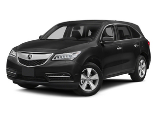 Crystal Black Pearl 2014 Acura MDX Pictures MDX Utility 4D AWD V6 photos front view