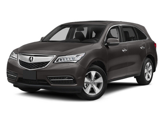 Graphite Luster Metallic 2014 Acura MDX Pictures MDX Utility 4D AWD V6 photos front view