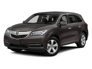 Graphite Luster Metallic 2014 Acura MDX Pictures MDX Utility 4D 2WD V6 photos front view