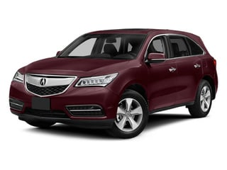 Dark Cherry Pearl 2014 Acura MDX Pictures MDX Utility 4D AWD V6 photos front view