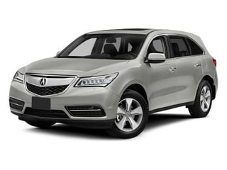 Silver Moon 2014 Acura MDX Pictures MDX Utility 4D AWD V6 photos front view