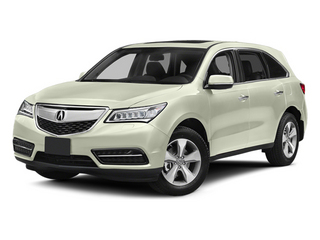White Diamond Pearl 2014 Acura MDX Pictures MDX Utility 4D 2WD V6 photos front view